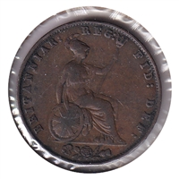 Great Britain 1857 1/2 Penny Very Fine (VF-20)
