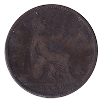 Great Britain 1869 Penny G-VG (G-6)