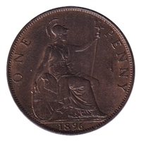 Great Britain 1896 Penny BU (MS-63)