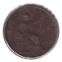 Great Britain 1895 Farthing EF-AU (EF-45)