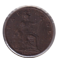 Great Britain 1906 Farthing Almost Uncirculated (AU-50)