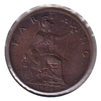 Great Britain 1906 Farthing UNC (MS-60)