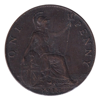 Great Britain 1913 Penny EF-AU (EF-45)