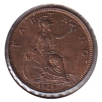 Great Britain 1929 Farthing BU (MS-63)