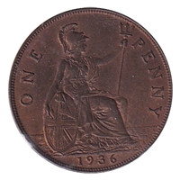 Great Britain 1936 Penny UNC (MS-60)