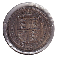 Great Britain 1887 6 Pence VF-EF (VF-30)
