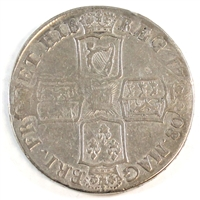 Great Britain 1708E Anne Crown F-VF