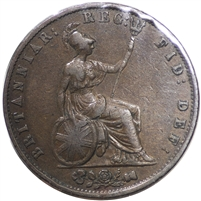 Great Britain 1855 1/2 Penny VF-EF (VF-30)
