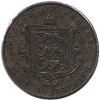 Jersey 1861 1/26 Shilling Extra Fine (EF-40)