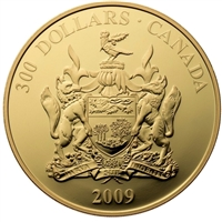 2009 Canada $300 14K Gold Coin - Prince Edward Island Coat of Arms