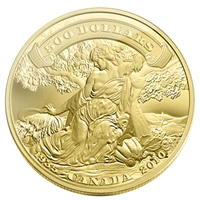 2010 Canada $500 75th Anniv. Of the First Bank Notes 5oz Gold (No Tax)