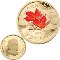 2010 Canada $75 Maple Leaf - Fall 14K Gold Coin