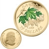 2010 Canada $75 Maple Leaf - Summer (butterfly) 14K Gold Coin