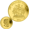 2011 Canada $300 Gold Coin - Manitoba Coat of Arms