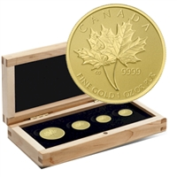 2013 Canada Gold Maple Leaf Set (TAX Exempt)