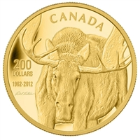 2012 Canada $200 Gold Coin - The Challenge - Robert Bateman (No Tax)