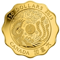 2013 Canada $150 Blessings of Peace Pure Gold (No Tax)