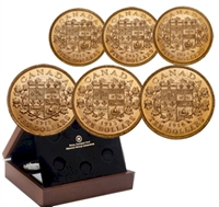 1912-1914 Canada's First Gold Coins Premium Hand-Selected 6-coin Set