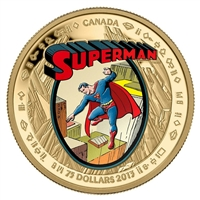 2013 Canada $75 Superman: The Early Years 14K Gold Coin