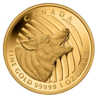 2014 Canada $200 Howling Wolf Pure Gold Coin (TAX Exempt) - 129232