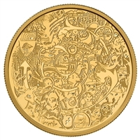 2014 $250 Canadian Contemporary Art Pure Gold Coin (No Tax)