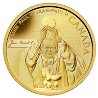 2014 Canada $25 Pope John Paul II Pure Gold Coin (TAX Exempt) - 132612