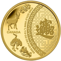 2014 Canada $5 Pure Gold Coin - Five Blessings (TAX Exempt) - 133897
