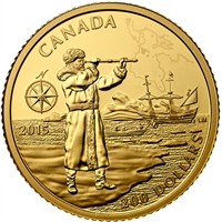 2015 $200 Great Canadian Explorers: Henry Hudson Gold (No Tax)