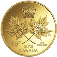 2015 Canada $200 An Historic Reign Pure Gold Coin (TAX Exempt) 146599