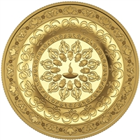 2015 Canada $200 Diwali Festival of Lights Pure Gold Coin (No Tax)