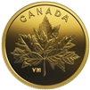 2019 Canada 25-cent Bouquet of Maple Leaves Pure Gold (No Tax)