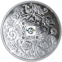 2019 Canada $20 Sparkle of the Heart Fine Silver with Diamond (No Tax)