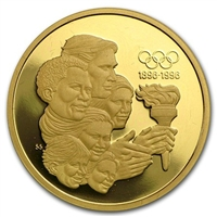 1992 Canada $175 22K 100th Anniversary of the Olympic Movement