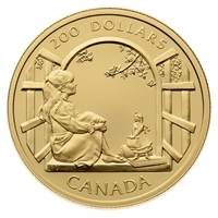 1994 Canada $200 Anne of Green Gables 22K Gold Coin