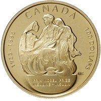 1998 Canada $100 Discovery of Insulin Nobel Prize 75th Anniversary 14K Gold