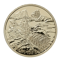 2000 Canada $100 Search for the NW Passage 150th Anniversary 14K Gold