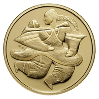 2000 Canada $200 Mother and Child 22K Gold Coin