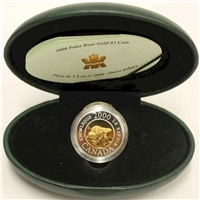 2000 Canada $2 Knowledge 22K Gold Coin