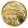 2001 Canada $100 125th Anniversary of the Library of Parliament 14K Gold