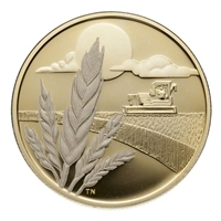 2003 Canada $100 Discovery of Marquis Wheat Centennial 14k Gold Coin