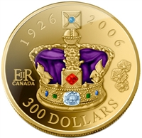 2006 Canada $300 80th Birthday of the Queen 14K Gold Coin