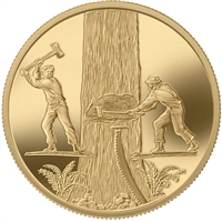 2006 Canada $200 Timber Trade 22k Gold Coin