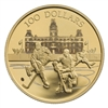2006 Canada $100 75th Game of Hockey 14K Gold Coin
