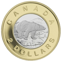 2006 Canada 10th Anniversary Two Dollar 22k Gold Coin