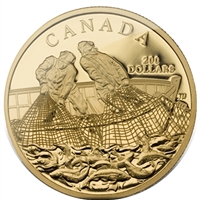 2007 $200 Fishing Trade 22K Gold Coin