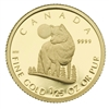 2007 Canada 50-cent The Wolf 1/25oz. Pure Gold Coin (TAX Exempt)