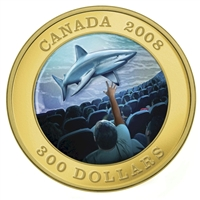 2008 Canada $300 IMAX Canadian Achievement Series Gold Coin