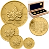 2011 Canada RCM Refinery Centennial Gold Maple Leaf Set (No tax)