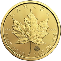2020 Canada $50 1oz. 9999 Gold Maple Leaf (TAX Exempt) No Credit cards DL-K