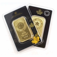 (Pre-Order) 1oz. Royal Canadian Mint Gold Bar Sealed (TAX exempt) DL-K